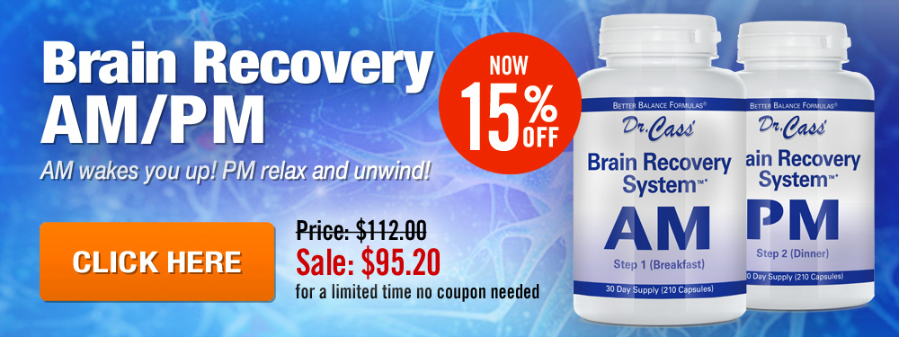 Brain Recovery AM PM Sale - Save 15%!
